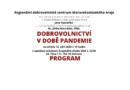 Program konference Dobrovolnictví v době pandemie